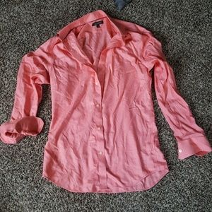 Banana Republic Salmon Dress Shirt
